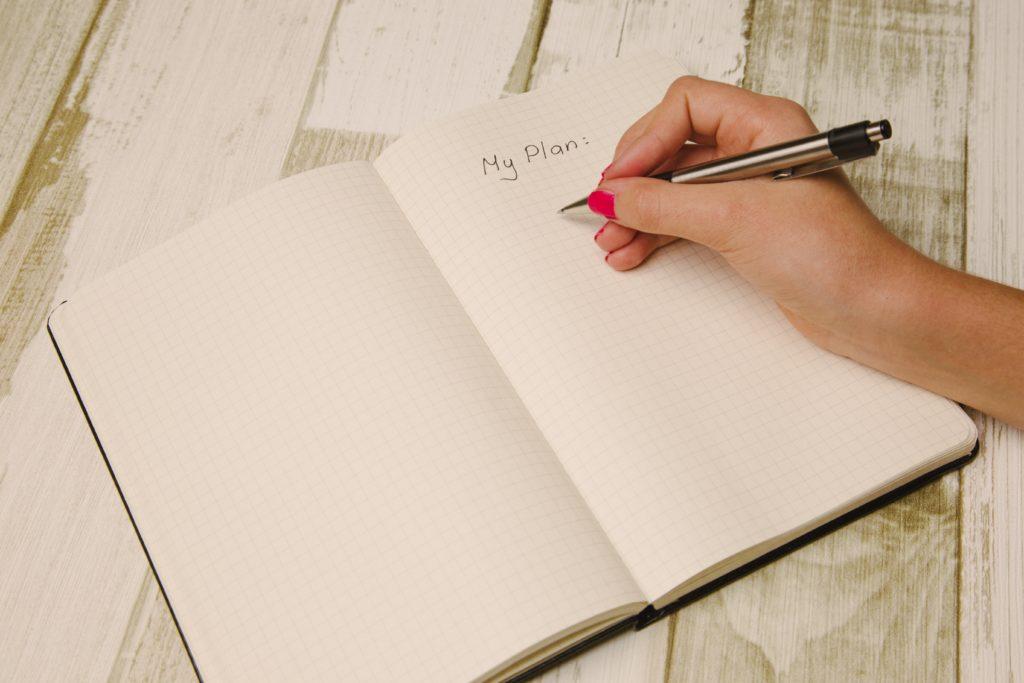 Notebook Detailing Plans